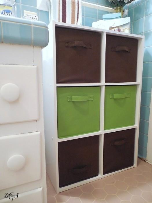 storage solution bins © DSG