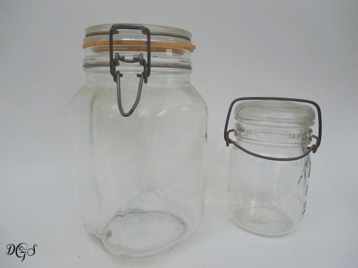 old canning jars ©DSG 2017