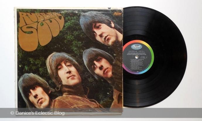 Beatles Rubber Soul vintage LP ©DSG