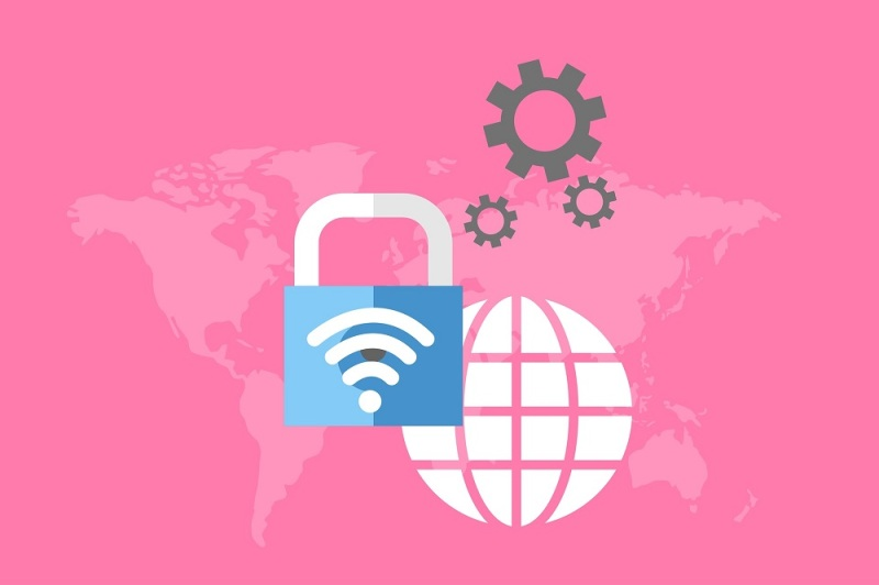 pink world map graphic: kreatikar @ Pixabay.com