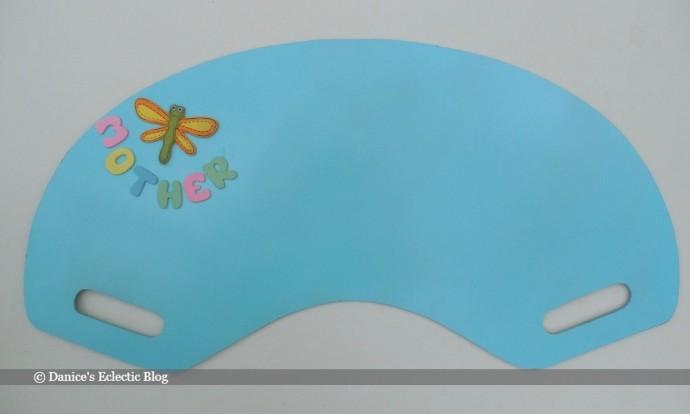 © Danice Gentle | DIY lap desk redo
