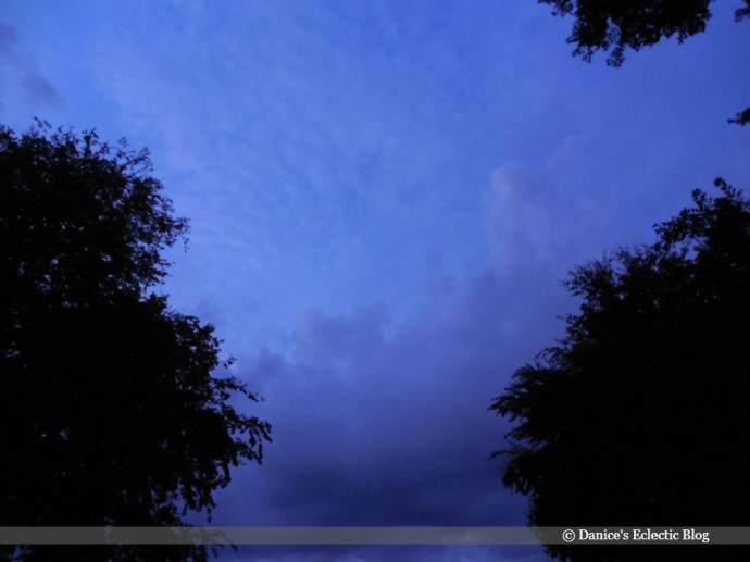 azure night sky ©DSG