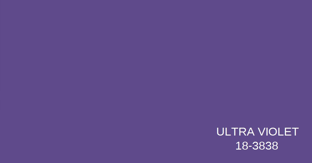 Pantone Color of the Year 2018- Ultra Violet
