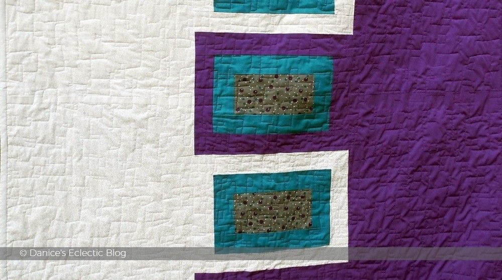 ©DSG purple and white quilt