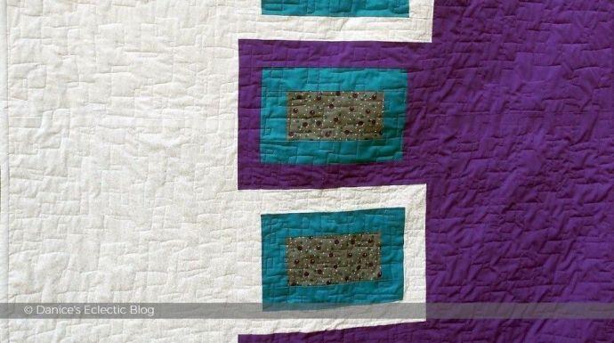 ©DSG purple and white quilt