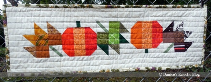 autumn table runner quilt