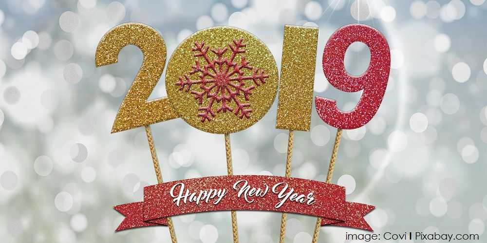 Happy New Year 2019 image: Covi | Pixabay.com