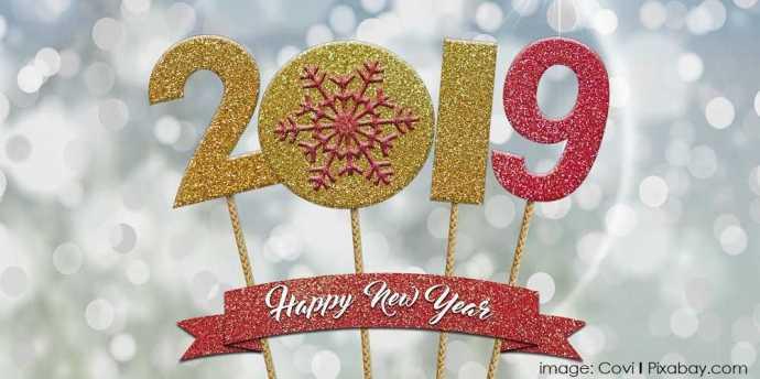 Happy New Year 2019 image: Covi | Pixabay.com