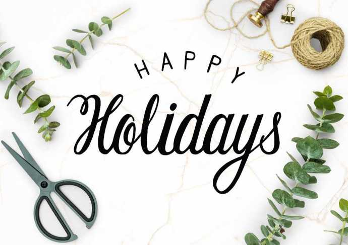 Happy Holidays image: rawpixel.com