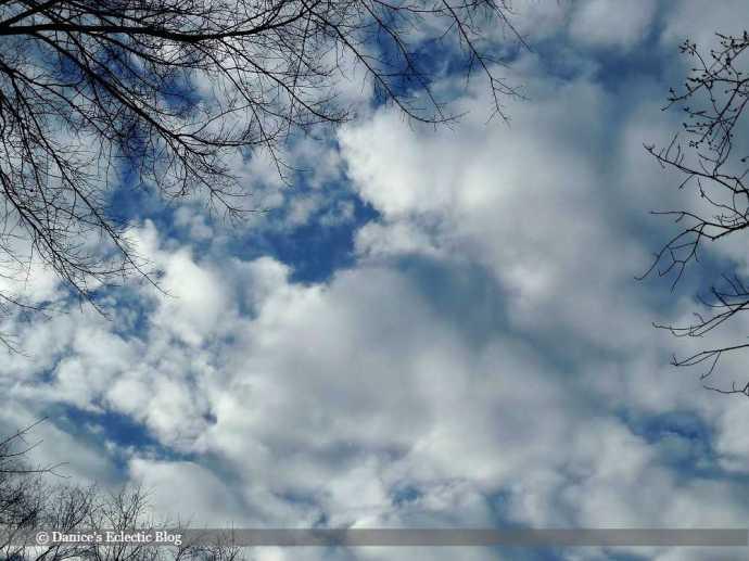 pretty February sky