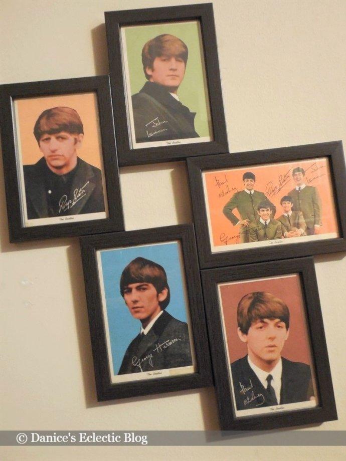 Beatles postcards © News Enterprises, Ltd. 1964