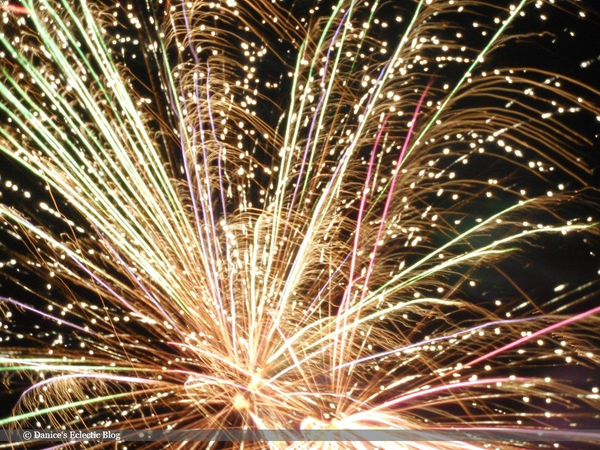 fireworks 4th JULY 2020   ©DSG 2020